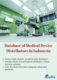 Indonesia Medical Devices Distributors Database