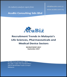 Recruitment Trends in Malaysia's Life Sciences, Pharmaceuticals and Medical Device Sectors